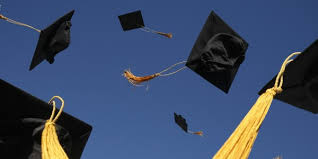 Graduation-caps-tossed-in-the-air - The Catholic Thing