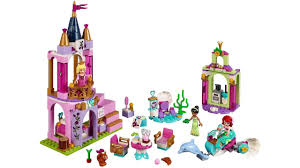 LEGO 41162 Lâu đài Nàng tiên cá Ariel, Công chúa Aurora và Tiana ...