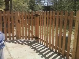 Cedar Fence Picket Lengths Tall Spaced Picket Using Western Red Cedar Dogear Fence Boards Cedar Fence Cedar Fence Pickets Cedar Wood Fence
