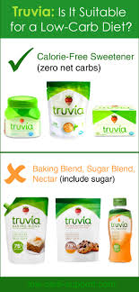 truvia is it acceptable for low carb
