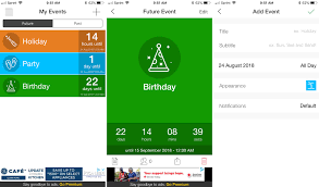 countdown apps for iphone and ipad