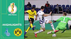 MSV Duisburg vs. Borussia Dortmund 0-5 | Highlights | DFB-Pokal 2020/21