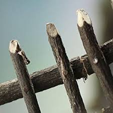 Buy Set Of 4 Old Fashioned Looking Twig Garden Fence Sections For Displays Fairy Gardens And Crafting In Cheap Price On Alibaba Com