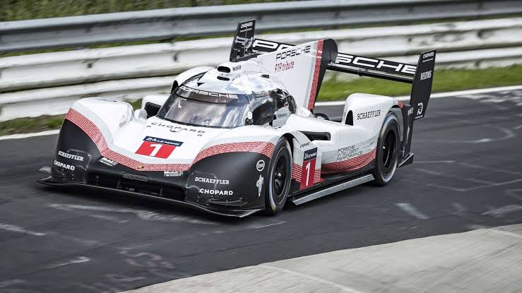 Image result for nordschleife lap record porsche 919 hybrid evo