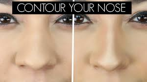 how to contour your nose make your