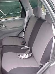 mazda tribute seat covers rear seats