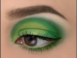make up tutorial von der maf green