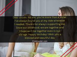 unique birthday wishes for cousin child insider