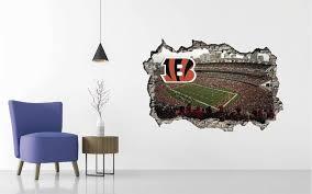 Cincinnati Bengals Stadium Wall Decal Egraphicstore