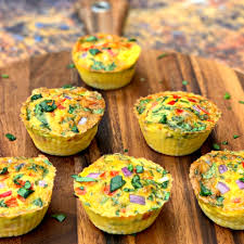 air fryer bacon and egg bite cups keto