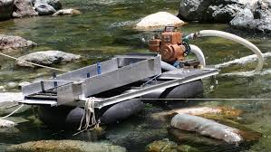 suction dredge for gold mining