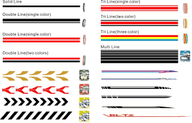 Factory Direct Car Pinstripe Tape Striping Tape Pinstriping