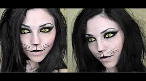 y black cat makeup you