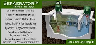 septic tank aerator and diffuser