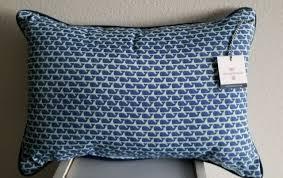 whale lumbar pillow aqua talkingbread co il