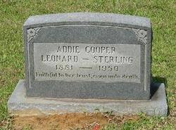 Addie Cooper Leonard-Sterling (1881-1950) - Find A Grave Memorial