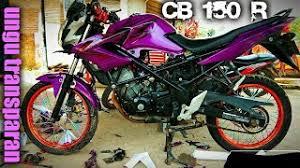 old cb150r black minimalis