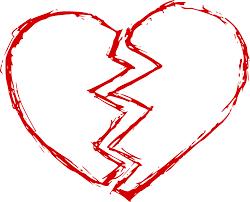 broken heart png transpa