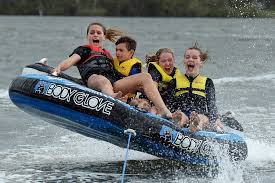 HOLIDAY SOCIALS: Out and about tubing on the Maroochy River ... | Buy  Photos Online | Noosa News