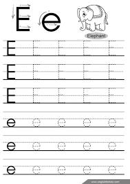 best of pre letter e worksheet