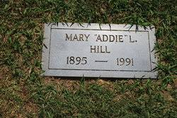 """Mary """"Addie"""" Lawson Hill (1895-1991) - Find A Grave Memorial"""