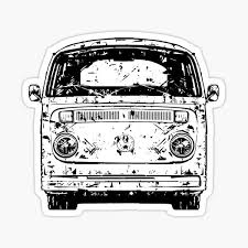 Travel By Bus Car Decal Sticker Vw Camper Bus Transporter Aircooled T1 T25 T4 T5 Archives Midweek Com