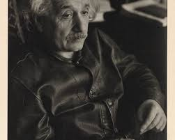 einstein bought a levi s leather jacket