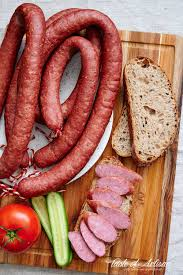 traditional polish sausage