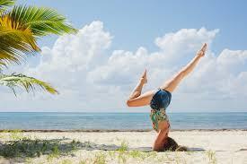 yoga teacher abroad