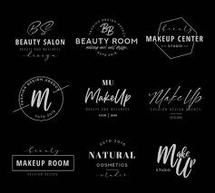 9 free makeup logo templates ai psd