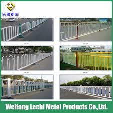 China Modern Design Powder Coated Steel Fence For Road China Fence Coated