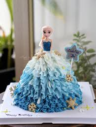 Bánh kem búp bê Elsa – Ngan.vn