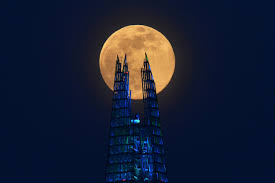 pink supermoon, the largest full moon ...