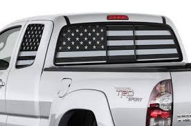Toyota Tacoma Trd 4x4 Window Vision Graphics Vinyl 2005 2013
