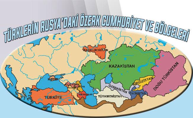Türkistan cumhuriyetleri haritası ile ilgili görsel sonucu