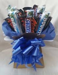 chocolate bouquet snickers mars bounty