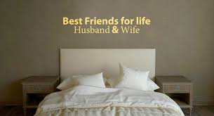 Best Friends For Life Husband Wife Vinyl Wall Art Company