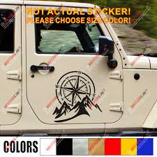 4x4 Off Road Decal Sticker Mountain Compass Car Vinyl Fit For Jeep Ford Chevy B Car Stickers Aliexpress