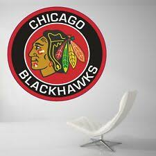 Chicago Blackhawks Wall Decals Ebay