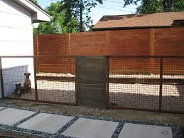 Custom Modern Dog Run Fence Rustic Denver By Mile High Landscaping