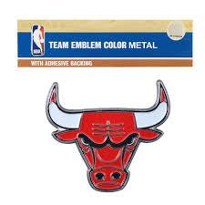 New Nba Chicago Bulls Car Truck Auto 3 D Color Metal Emblem Decal Sticker Ebay