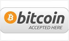 Amazon Com Cafepress Bitcoin Accepted Here Sticker Rectangle Bumper Sticker Car Decal Home Kitchen