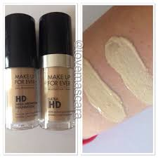 makeup forever hd foundation vs nars
