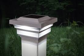 White Regal Solar Cap 3x Brighter Than Leds Solar Fence Lights