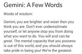 image about quotes in gemini things ✌❤ by mirustilinski
