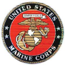 United States Marine Corps 12 Decal Devil Dog Depot