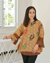 Baju batik kombinasi ini terus berkembang dan melahirkan banyak karya dari berbagai desainer. 55 Model Seragam Batik Kantor Wanita Paling Di Cari Hassa Batik