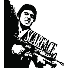 Scarface Wall Art Decal Sticker Home Decor To View Further For This Item Visit The Image Link This Is An Affiliate Li Tony Montana Scarface Decal Wall Art