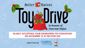 flames better halves to host toy drive