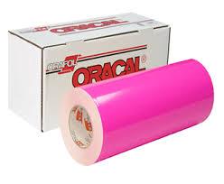 Oracal Vinyl 30 6510 Fluorescent Cast Central Sign Supplies Inc